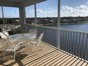 Lakefront 3 bedroom, 2 bath Condo in Punta Gorda Florida