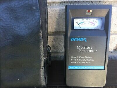 Tramex Moisture Encounter Non-destructive Moisture Meter
