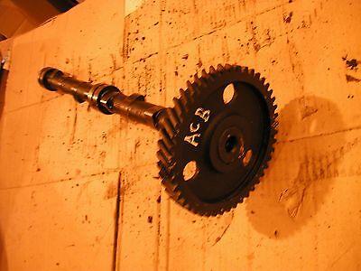 Allis Chalmers B C Tractor Ac Engine Motor Camshaft Cam Shaft Cam Drive Gear