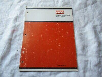 Case R Farm Wagons Parts Catalog Book Manual