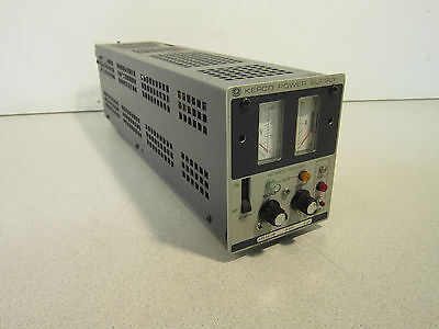 Kepco Ate 55-2m 0-55v 0-2a Metered Variable Regulated Dc Power Supply