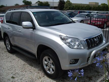 2011 TOYOTA PRADO GXL 3.0L TURBO DIESEL AUTOMATIC WAGON Mount Gambier Grant Area Preview
