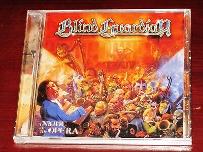 Blind Guardian  A Night At The Opera Cd 2017 Remaster Nuclear Blast Nb Usa New