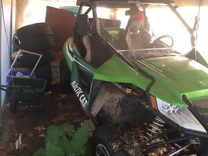 2012 arctic cat wildcat side by side