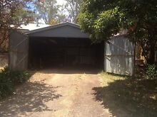 Used zinc alum double garage Hurstbridge Nillumbik Area Preview