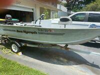 1997 Sea Nymph FM146 14' Aluminum Boat & Trailer - Delaware