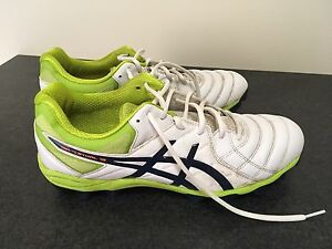 ASICS GEL LETHAL 18   - US 10 MENS FOOTBALL BOOTS Golden Grove Tea Tree Gully Area Preview