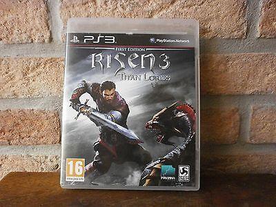 Jeu PS3 RISEN 3 TITAN LORDS vidéo Blu-ray Disc console Playstation 3