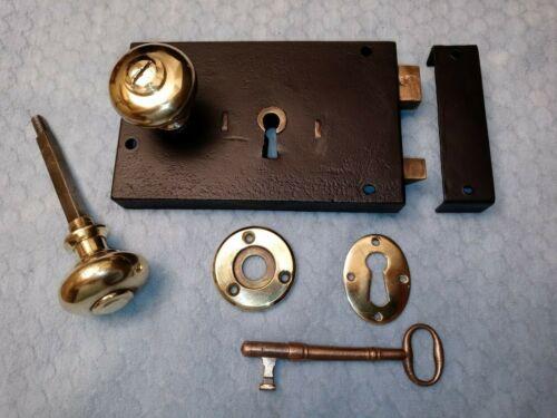 Shawk Interior Rim Lock Restored 1830