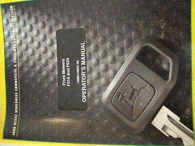 John Deere F510 F525 Front Mower Owner Operator Manual User Guide Omm144025