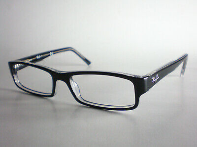 Ray Ban glasses frames RB5169 black clear square italy prescription rx wayfarer