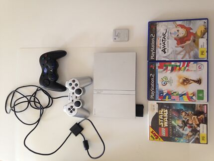 Silver Sony PS2 Console Bundle Reedy Creek Gold Coast South Preview