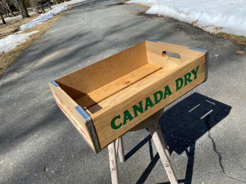 Vintage Wooden Soda Crate Pepsi Cola & Canada Dry Box