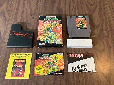 Teenage Mutant Ninja Turtles II 2: The Arcade Game  (Nintendo, NES) Complete