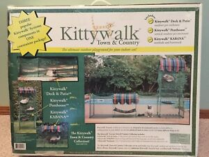 Kittywalk Town & Country outdoor cat enclosure