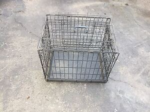 Small two door kennel