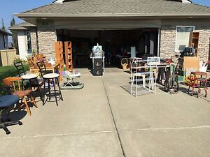 Garage sale moving out sale
