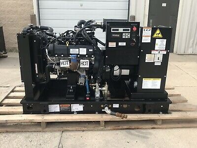 35 Kw Generator Propane Natural Gas 2016 35 Hours 120240 Volt Single Phase Sg35