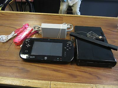 Nintendo Wii U Game Console Complete System WUP-101 USED (FX)