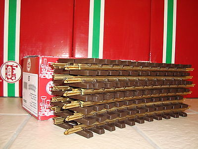 LGB 11000 RADIUS 1 BRASS CURVED TRACK CASE OF 12 PIECES BRAND NEW IN BOX!