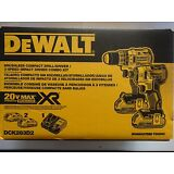 DEWALT DCK283D2 20V 20 Volt Li-Ion Brushless Drill & Impact Driver Set New NIP
