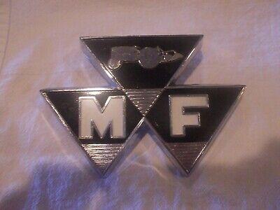 Massey Ferguson Tractor Original Nos Nuw Old Stock Front Hood Badge Medallion