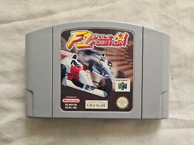 F1 POLE POSITION 64 Nintendo 64 N64 Game PAL VERSION