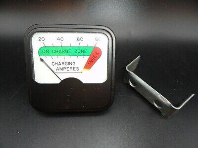 Analog Charging Amperes Meter 0 - 80 Panel Meter