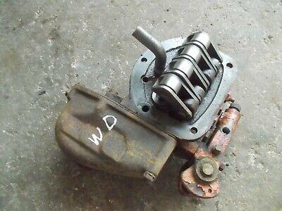 Allis Chalmers Ac Wd Wd45 45 Tractor Hydraulic Pump Works Good Ready Use
