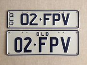 """QLD number plate - """"02.FPV"""" - FORD PERFORMANCE VEHICLE Runaway Bay Gold Coast North Preview"""