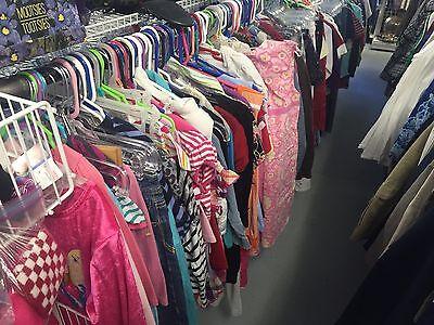 Bulk Lot 50 Kids Clothes Girls Pants Shirts Various Sizes Clothing Wholesale