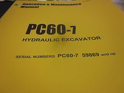 Komatsu Pc60 | Owner's Guide to Business and Industrial Equipment