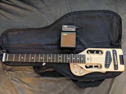 Traveler Guitar Pro + Vox Amplug2 AC30 Battery Headphone Amp combo