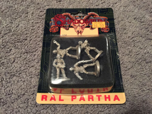 Opened Box Ral Partha Shadowrun SWAT Team 20-563
