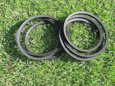 2 Belt Replacement Set For Maschio Jolly Caroni 5 Finishing Grooming Mowers