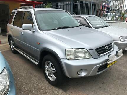 2001 Honda CRV Sports 4WD Station Wagon