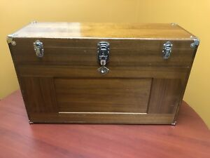 Gerstner USA W42 walnut Machist Chest