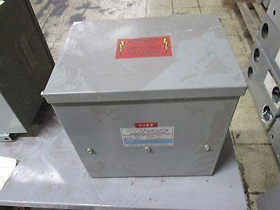 Rte Aerovox Power Factor Capacitor C85z4807y 7.5kvar 480v 60hz 3ph Used