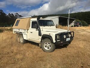 Land Rover Defender TD5 ute Springfield Dorset Area Preview