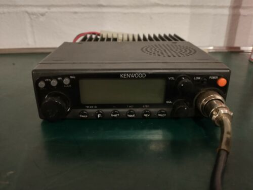 KENWOOD TM-241A 2-METER TRANSCEIVER - WORKING CONDITION