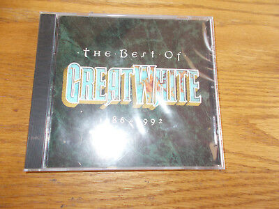 THE BEST OF GREAT WHITE 1986-1992 CD BRAND NEW