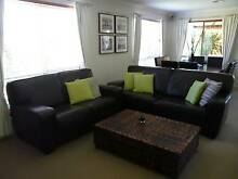 Sofa Leather lounge suite Wyndham Vale Wyndham Area Preview
