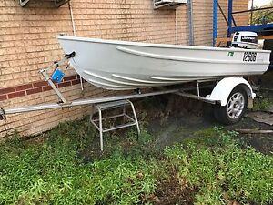 Boat and trailer, 3.6m, rego'd with 25hp outboard $2900 Donnybrook Donnybrook Area Preview