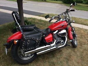 2007 honda shadow 750cc