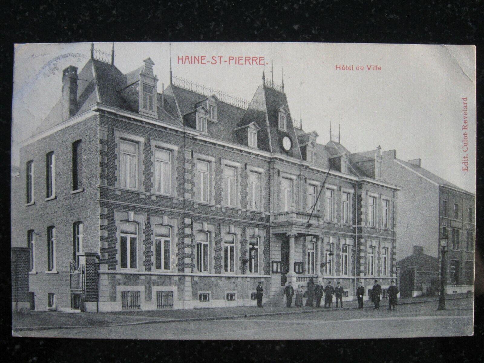 HAINE-SAINT-PIERRE Hôtel de ville