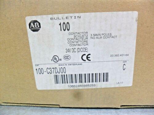 Allen Bradley Contactor 100-C37DJ00 NIB