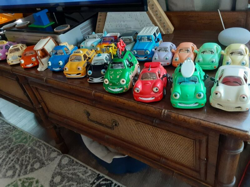 Lot Of ChevronPromo Cars Collection Vintage 70s to 90s