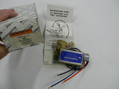 Honeywell Limit (New Honeywell Limit Switch BZLN-2-LH  A3)