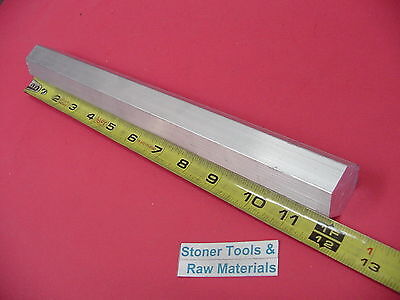 Hex 1-38 Aluminum 6061 Bar 12 Long T6511 Solid Lathe Stock 1.375 Flat To Flat