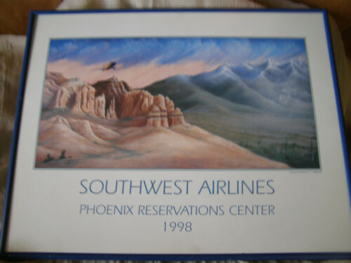 Southwest Airlines Collectible Framed Print